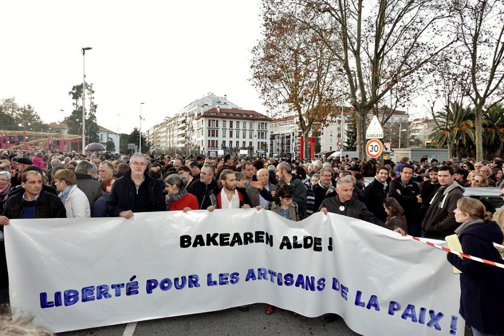 Manifestation 17 décembre 2016 à Bayonne pour la libération des Artisans de la Paix DSC02532