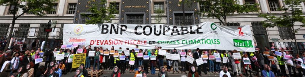 BNP Paribas mise sur le banc des accusés ce 11 avril par les Faucheurs de Chaises