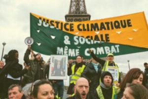 Blocage réussi pour le mouvement climat et les Gilets jaunes à Paris ! : image à la une