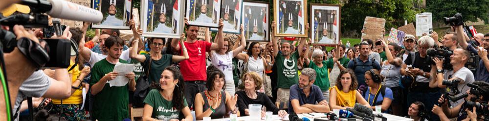 Bayonne G7 décrochons Macron - Crédit photo : Guénolé Le Gal