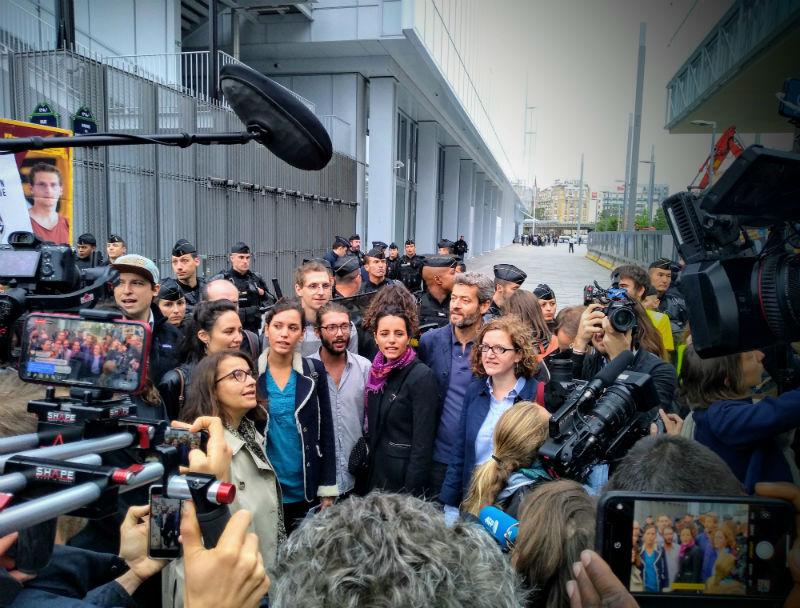 Procès Paris 11 Septembre 2019 Crédit Greenpeace France