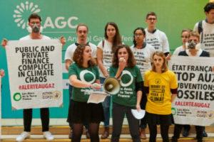 Les activistes climat font capoter la 2e journée de la Conférence Annuelle Européenne du Gaz (EAGC) : image à la une