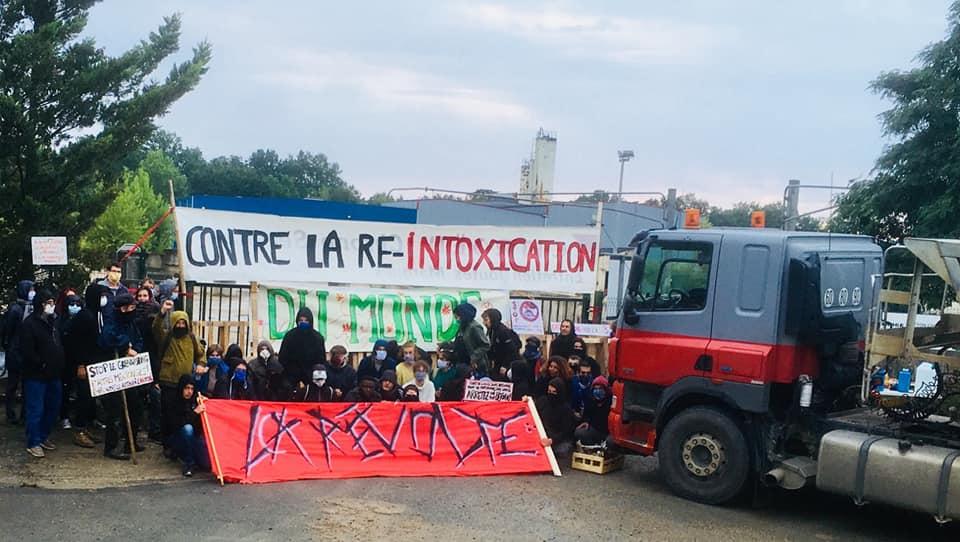Blocage cimenterie Lafarge vers Angers