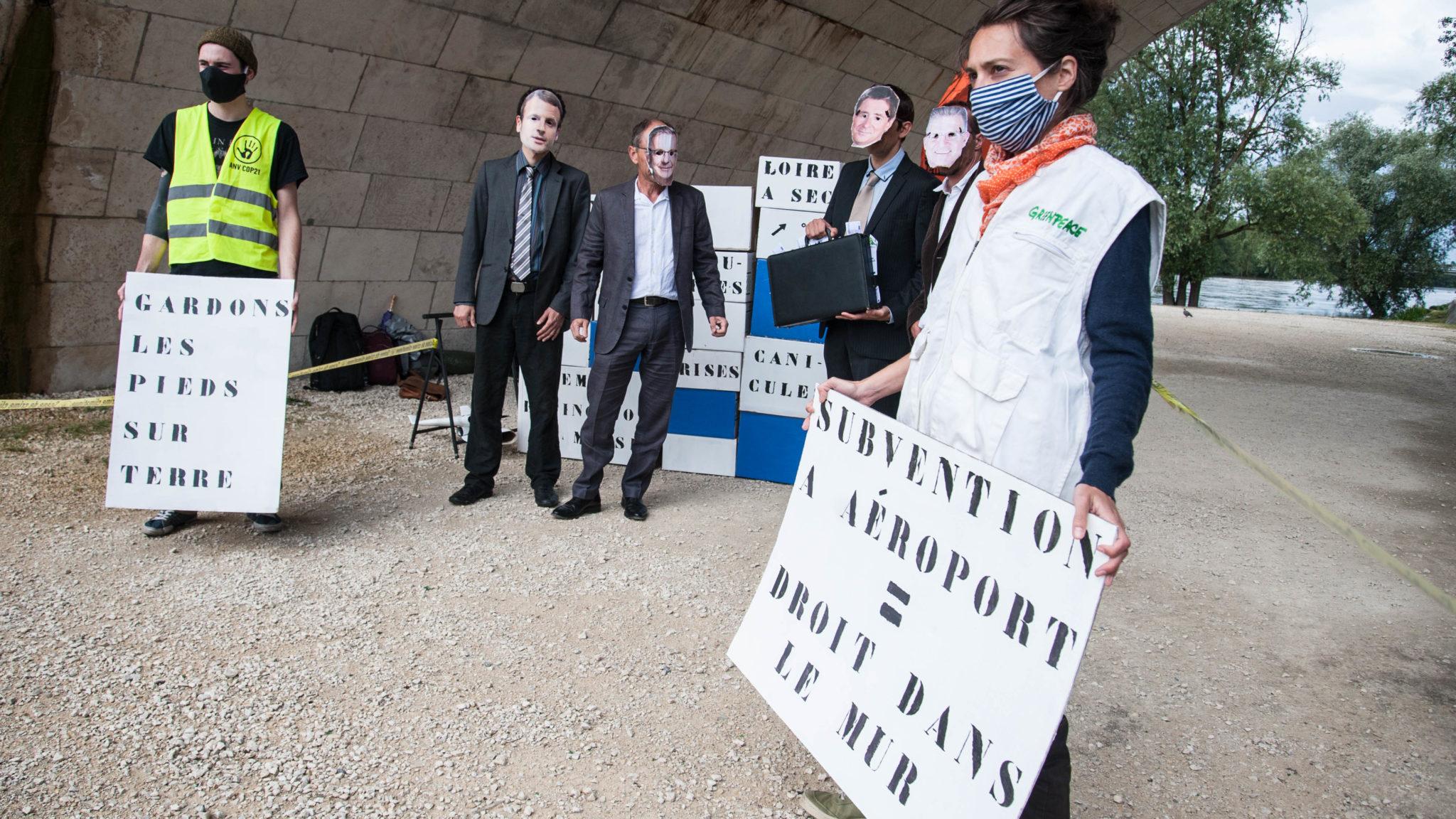 Action ANV-COP21 Tours le 17 juin