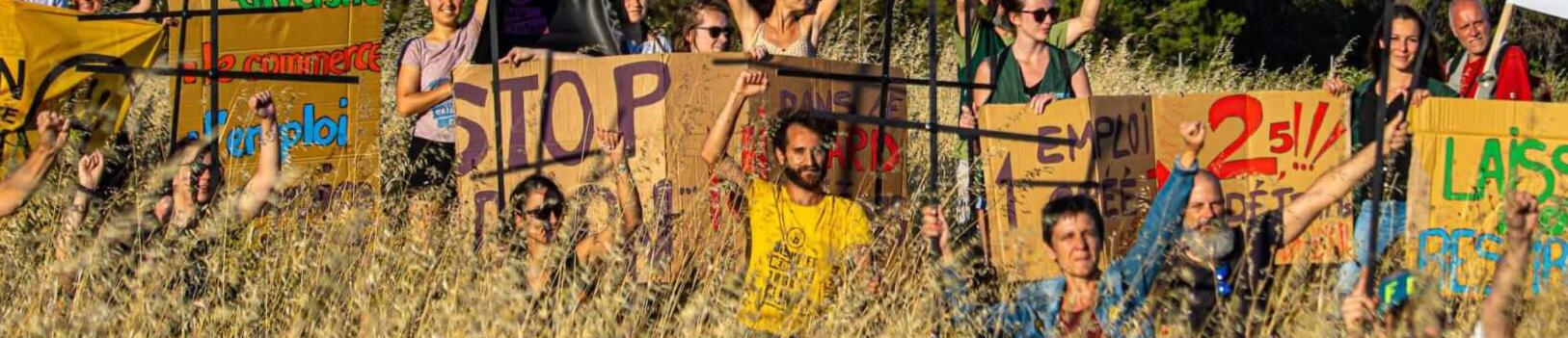 Action Amazon Montpellier le 17 juin - Crédit photo : Fournes