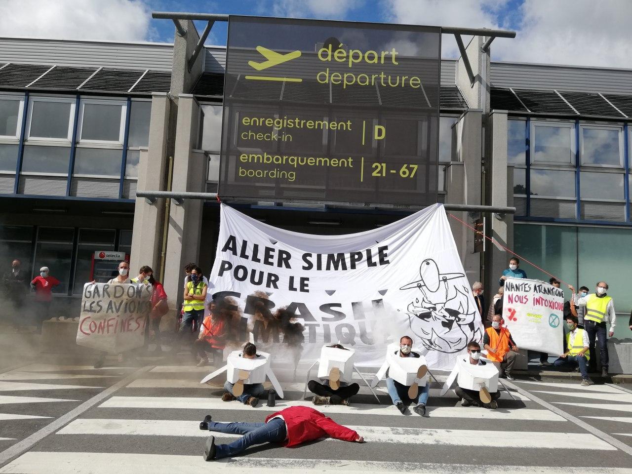 Action Nantes - GIGNV le 17 juin