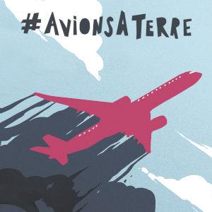 #AvionsÀTerre – Le 3 octobre, marchons sur les aéroports !