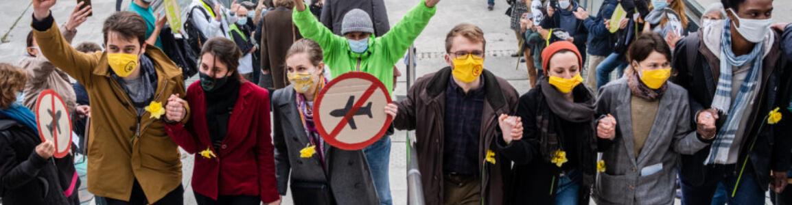 Procès des activistes #AvionsATerre à Bordeaux - Crédit photo : Maurice Lafaye