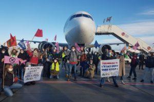 Vague de mobilisation dans toute la France pour clouer les avions au sol : image à la une