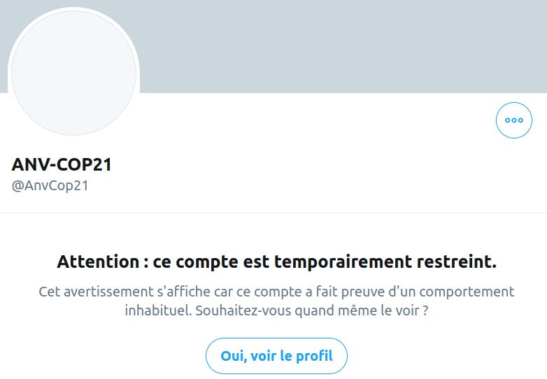 Compte Twitter ANV-COP21 bloqué_2020-10-01