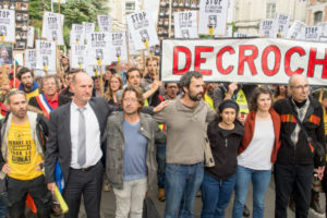Premier procès #DécrochonsMacron : l'État veut sanctionner pour l'exemple : image à la une