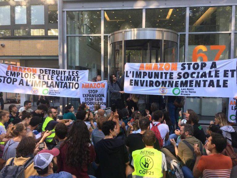 Amazon détruit les emplois et le climat