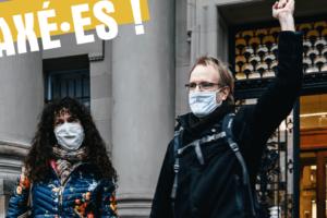 Liberté d'expression : relaxe pour deux Décrocheur·ses à Strasbourg : image à la une