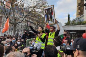 Appel pour les marches des libertés samedi 28 novembre partout en France : image à la une