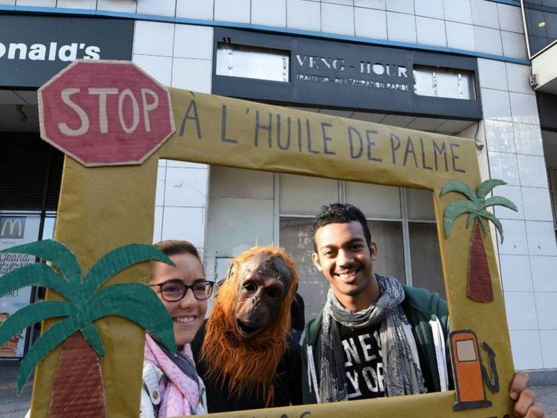 Stop à l'huile de palme