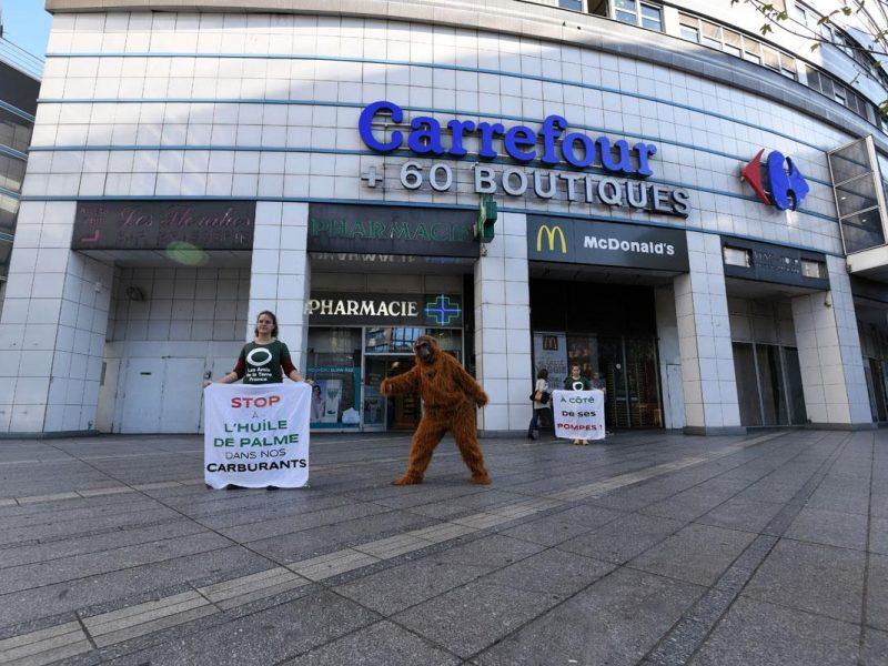Carrefour : stop à l'huile de palme dans le carburant