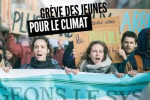 Appel des jeunes à la grève pour le climat : image à la une