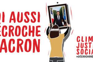 Décrochons Macron ! Appel à décrocher 125 portraits présidentiels pour le G7 : image à la une