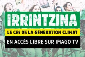 Irrintzina : le cri de la génération climat : image à la une