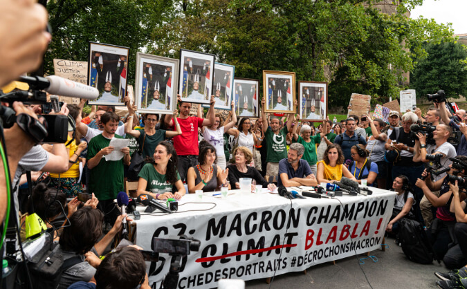 Bayonne G7 décrochons Macron