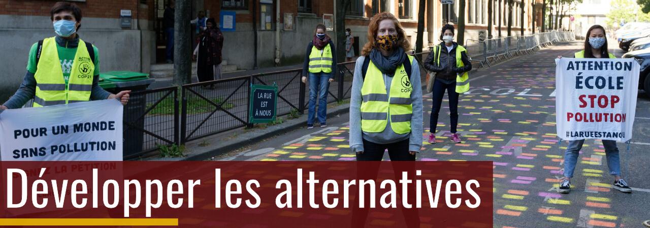 Action anti-pollution /  Crédit photo: Benoit Derouet