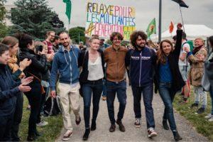 Procès des 5 activistes contre le T4 : rendez-vous le 7 octobre : image à la une