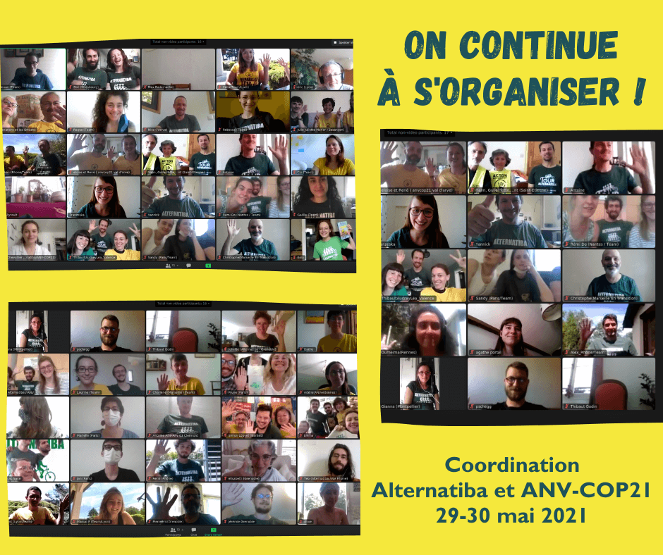 Cap sur 2022 : Alternatiba et ANV-COP21 dans les starting blocks : Image à la une